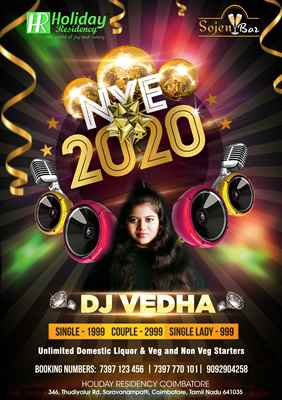 New Year Party Event 2020 @ Sojen Bar
