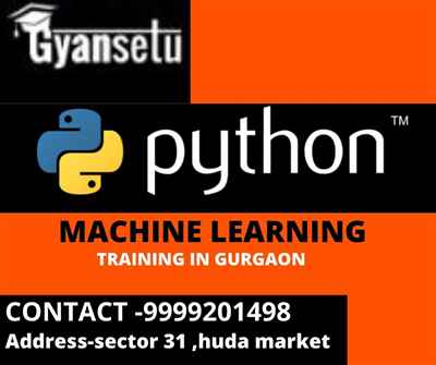 Machine Learning with Python in Gurgaon