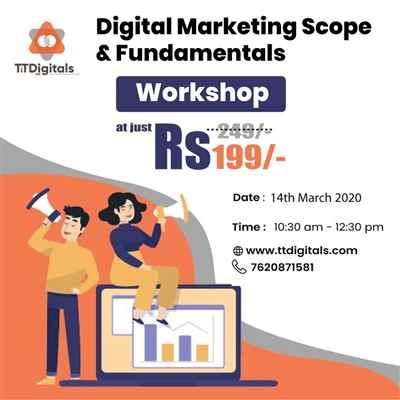 Digital Marketing Scope Fundamentals