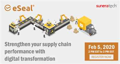 eSeal Enabling you to Visualize your Supply Chain