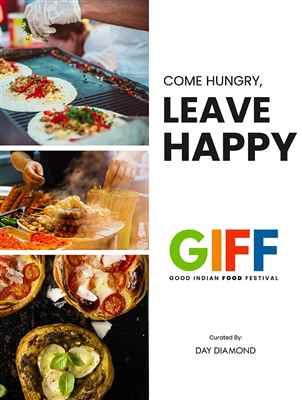 GIFF GOOD INDIAN FOOD FESTIVAL