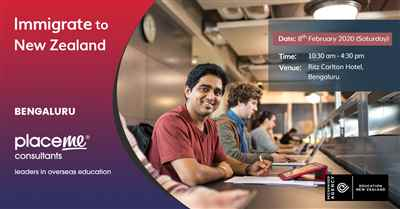 Free New Zealand Education Fair Event Registration at Bangalore