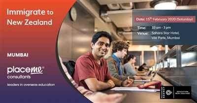 Free New Zealand Education Fair Event Registration at Mumbai