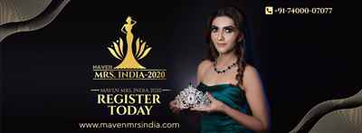 Maven Mrs India 2020 Registration Open