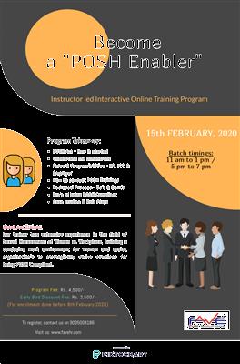 Become a PoSH Enabler