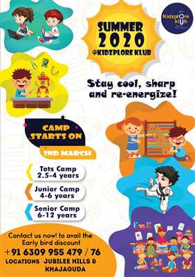 Best Summer Camp for Kids in Hyderabad Kidzploreklub