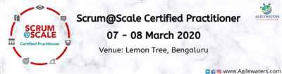 Scrum at Scale Certification Training