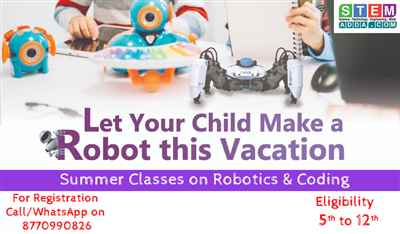 Robotics Coding Summer Camp
