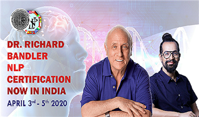 DR RICHARD BANDLER NLP CERTIFICATION NOW IN INDIA