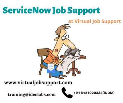 ServiceNow Job Support Best ServiceNow project support