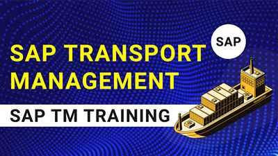 SAP TM Training SAP Transportation Management Training Intellipaat