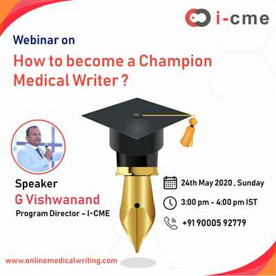 How to become a Champion Medical Writer