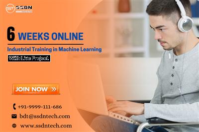 6 Weeks Machine Learning Online Training