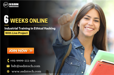 6 Weeks Ethical Hacking Industrial Training In Gurgaon