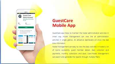 Hostels Management App Invention