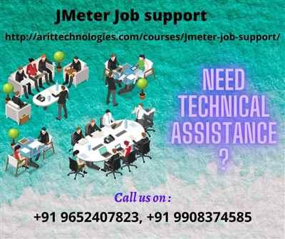 JMeter Job Support