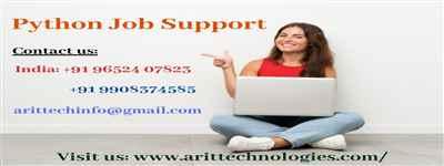 Python Job Support Python Online Job Support AR IT