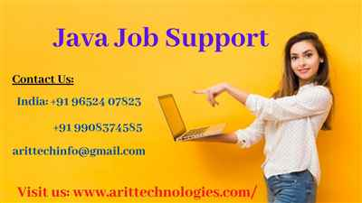 Java Job Support Java Online Job Support AR IT Technologies