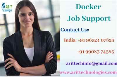 Docker Job Support Docker Online Job Support AR IT
