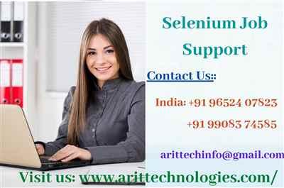 Selenium Job Support Selenium Online Job Support AR IT