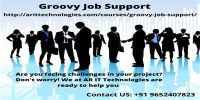 Groovy Job Support Apache Groovy Online Job Support AR IT