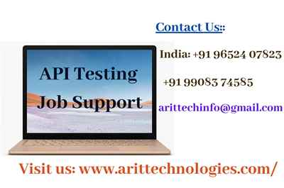 API Testing Job Support API Testing Online Job Support