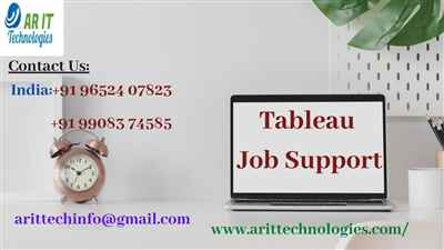 Tableau Job Support Tableau Online Job Support AR IT