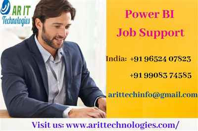 Power BI Job Support Power BI Online Job Support AR IT