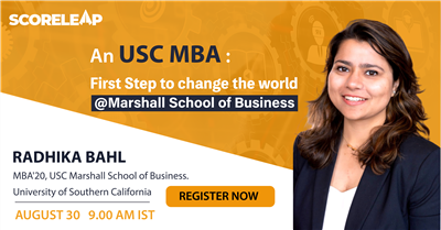 An USC MBA First step to change the world