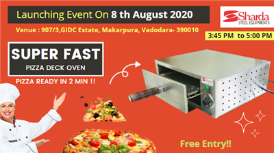 Super Pizza Deck Oven Launch Event Made In India