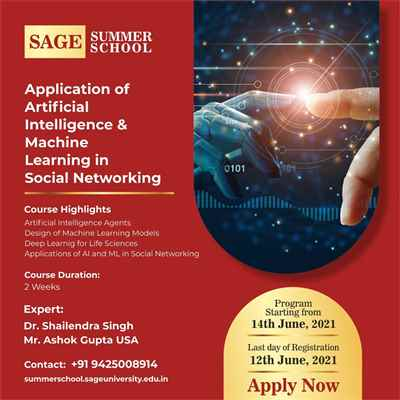 Application of Artificial Intelligence Machine Learning in Social Networking