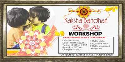 Raksha Bandhan Workshop