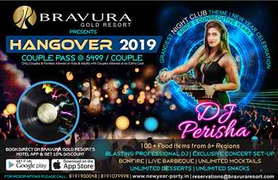 Grandest New Year Celebration HANGOVER 2019