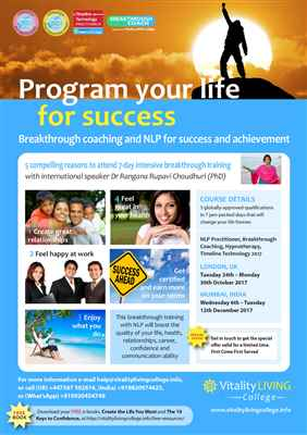 Breakthrough Coaching with NLP Neuro linguistic programming