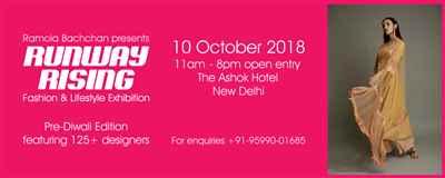 RamolaBachchan Presents RUNWAY RISING Pre Diwali Fashion Lifestyle Exhibition