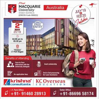 Meet Delegate of Macquarie University Australia 2nd May 2019