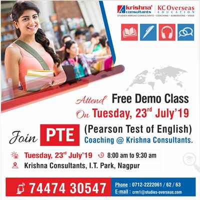 PTE Coaching in Nagpur New Batch Starting from 23rd July 2019 Enroll Now