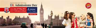 UK Admissions Day at Krishna Consultants Nagpur Sunday 19th May 2019