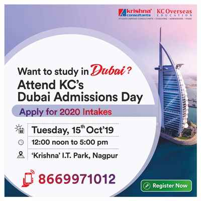 Meet Apply to Manipal Academy of Higher Education Dubai 15th Oct 19