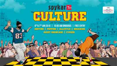 Biggest Indian Dance Competition in Mumbai Spykar The Culture