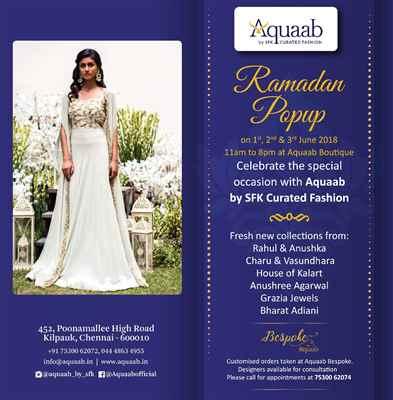 Aquaab Ramadan Popup