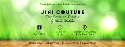 Exclusive Spring Summer Collection 2018 by JINI COUTURE The Fahion Studio