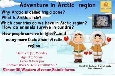 ADVENTURE IN ARCTIC REGION