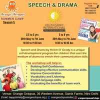 Speech Drama workshop