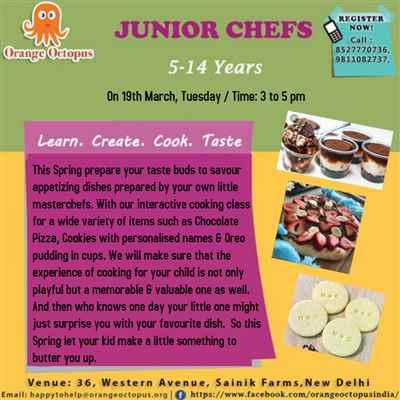 Junior Chef at Orange Octopus