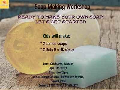 Soap Making Workshop at Orange Octopus