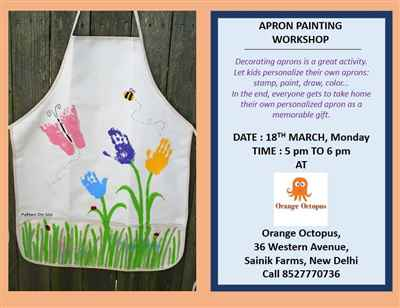 Apron Painting at Orange Octopus