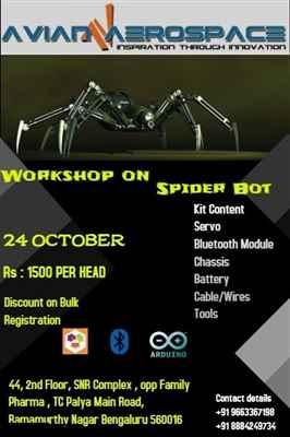 Workshop on Spider Bot