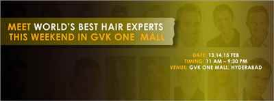 Meet the Hair Experts at GVK One Mall