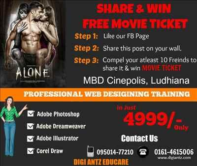 Share & Win 'ALONE' Movie Ticket!